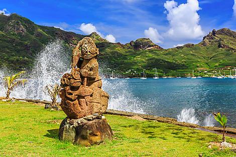 Taiohae, île de Nuka Hiva