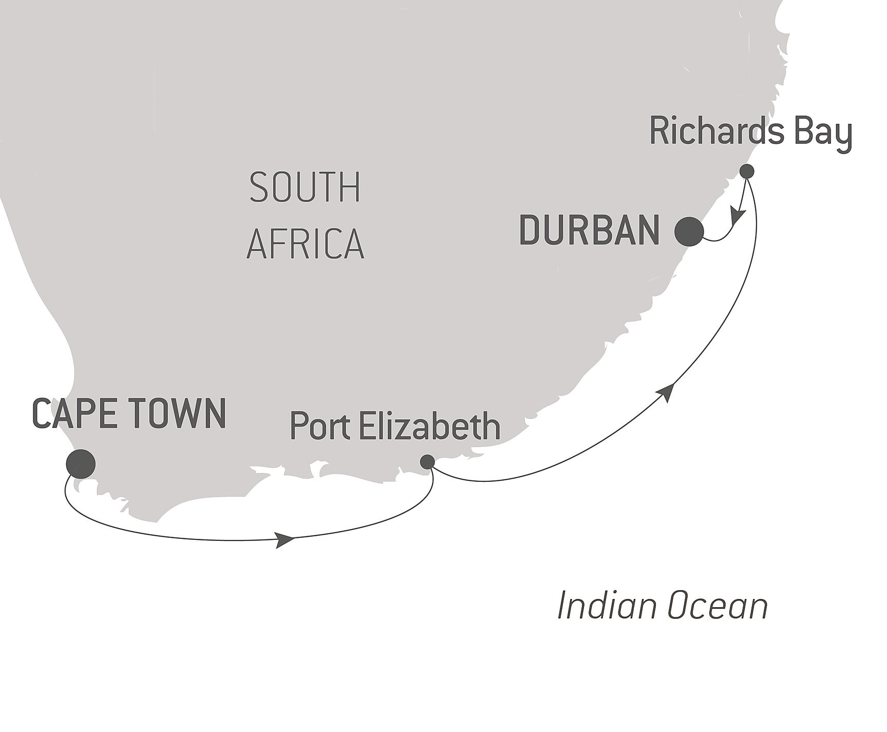 Tiny House Prix M2 along the south african coastline - musical cruise