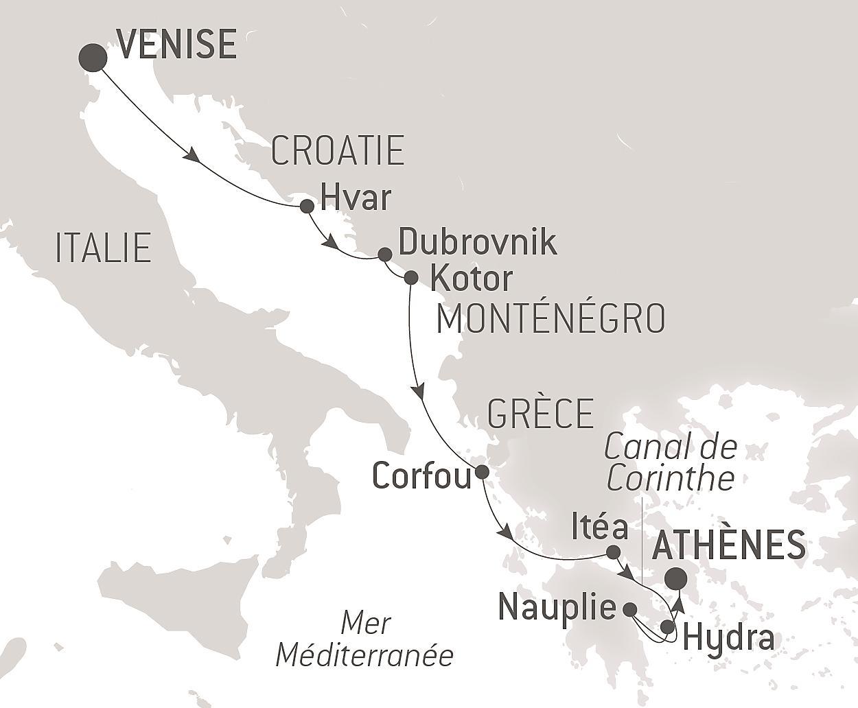 La Grèce PAVILLON GREC Léger Serviette de plage