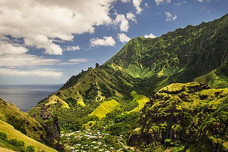 Hanavave (baie des Vierges), île de Fatu Hiva