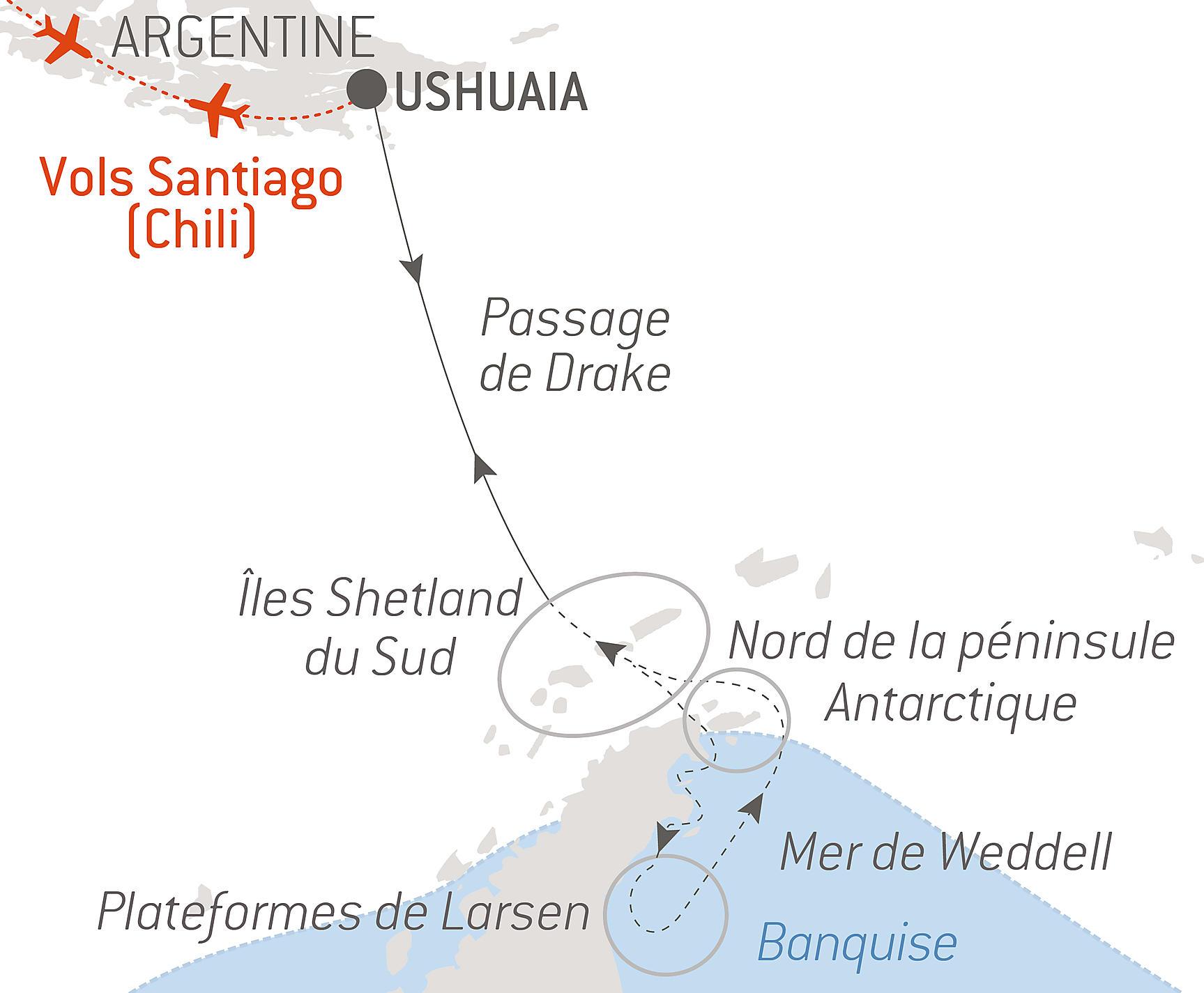 Croisiere Mer De Weddell Et Plateformes De Glace De Larsen De Ushuaia A Ushuaia Decembre 2021 Ponant