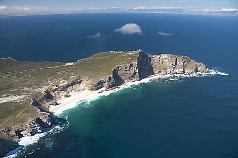 Sailing around the Cape of Good Hope