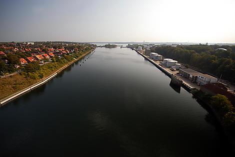 Crossing the Kiel Canal