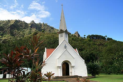 Omoa, île de Fatu Hiva
